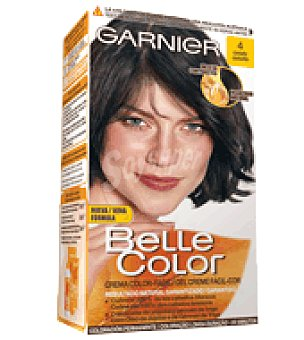 Belle Color Garnier Tinte nº 4 castaño Caja 1 unidad