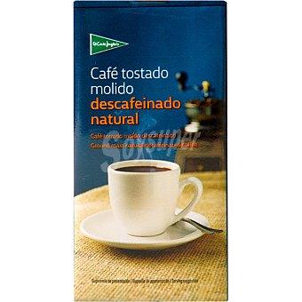 El Corte Inglés Café descafeinado molido natural Paquete de 250 g