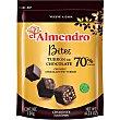 Bites de turron de chocolate negro El Almendro sin gluten 120 g Delaviuda