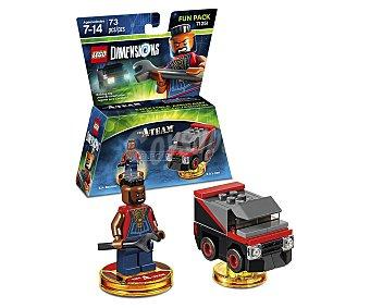 LEGO Pack de diversion El equipo A, incluye 2 figuras interactivas Lego Dimensions 1 unidad