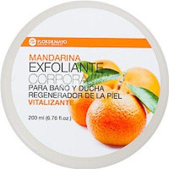 Flor de Mayo Exfoliante de mandarina Tarro 200 ml