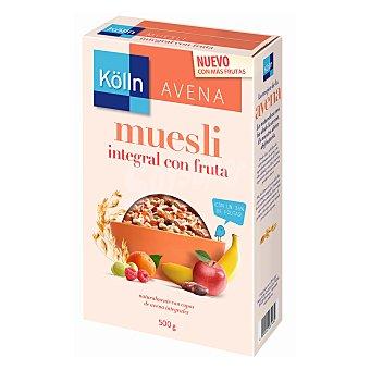 Kölln Muesli integral con frutas, copos de avena integrales y pipas de girasol crujientes Paquete 500 g