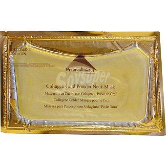 PRISMA NATURAL mascarilla de cuello con colágeno y polvo de oro  envase 60 g