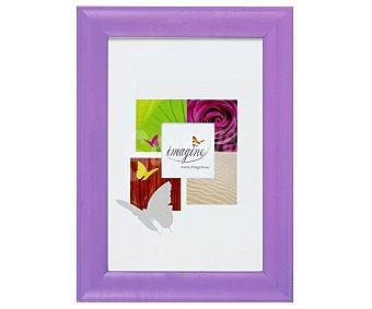 IMAGINE Portafotos de color violeta modelo Fiesta, para fotografias de tamaño 18x24 1 Unidad