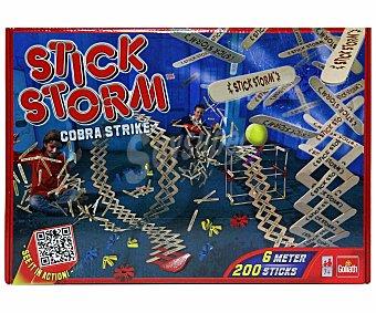 GOLIATH Juego de Construcción Stick Storm, Ataque Cobra, Incluye 200 Palitos 1 Unidad