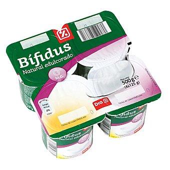 DIA Bífidus natural edulcorado 0% M.G Pack 4 unidades 125 gr