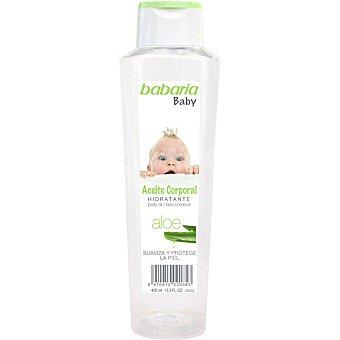 Babaria Aceite corporal hidratante Aloe Baby 400 ml