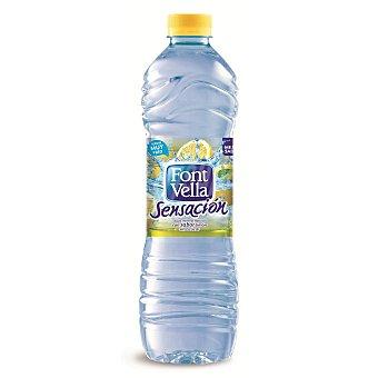 FONT VELLA SENSACION Agua mineral sabor limon sin azucar  botella 125 l