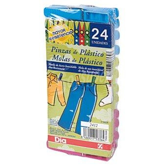 DIA Pinzas de plástico para la ropa Paquete 24 uds