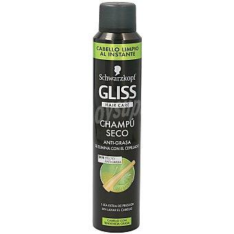 Gliss Schwarzkopf Champú seco que se elimina con el cepillado Spray de 200 ml
