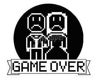 Bccorona Pegatina game over, adhesivo de alta calidad, BCCORONA.