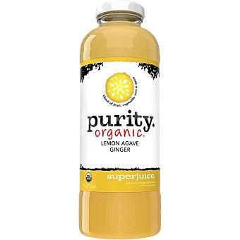 PURITY ORGANIC Zumo de jengibre y limón ecológico botella 414 ml botella 414 ml