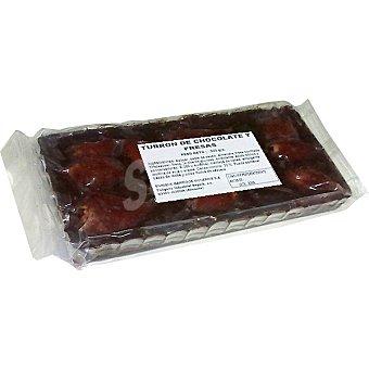 ENRIQUE GARRIGOS MONERRIS Turrón de chocolate negro y fresas Tableta 300 g