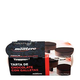 Montero Alimentacion Tarta de chocolate y galletas 160 g