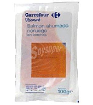 Carrefour Discount Salmón ahumado Noruego 100 g
