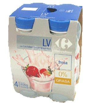 Carrefour LV 0% fresa Pack de 4x200 g