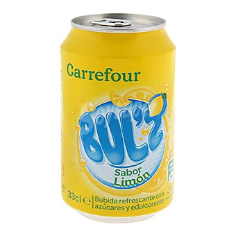 Carrefour Refresco de limón Bul'z 33 cl