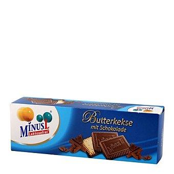 Minus l Galletas de Mantequilla y Chocolate Sin Lactosa 125 g