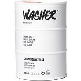 WASHER Gel ducha azul Lata 600 ml