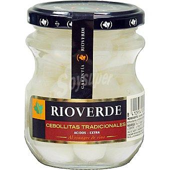Rioverde Cebollitas pequeñas Frasco 110 g neto escurrido