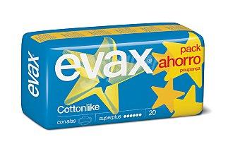 Evax Compresa super plus con alas Paquete 20 unid
