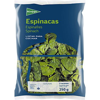 El Corte Inglés Espinacas Bolsa de 250 g