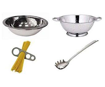 FUENTES GUERRA Juego de 5 utensilios de acero inoxidable especiales para cocinar pasta 1 unidad