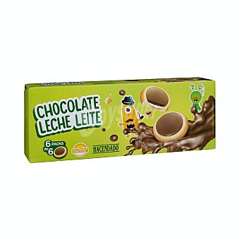 Hacendado Galleta chocolate con leche Caja 235.8 g