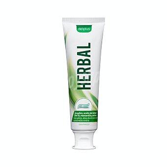 Deliplus Dentifrico pasta herbal con fluor Tubo 100 ml