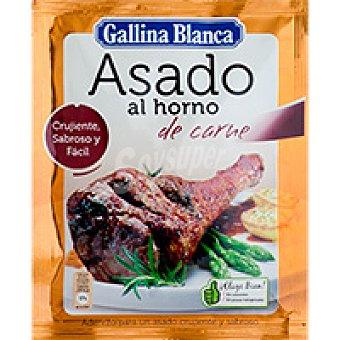 Gallina Blanca Asado al horno de carne Sobre 40 g