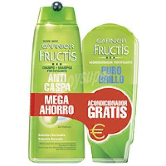 Fructis Garnier Champúanticaspa verde Bote 300 ml + Acondiconador