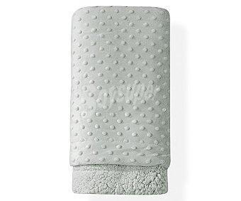 PisPas Manta extra suave de 80x110 cm, color gris