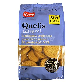 Quely Galletas integral sin sal 450 g