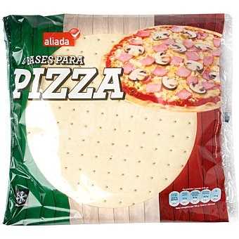 ALIADA Bases para pizza  Envase 500 g (4 unidades)