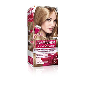Color Sensation Garnier Tinte rubio nº 7.0 coloración permanente intensa  Caja 1 ud