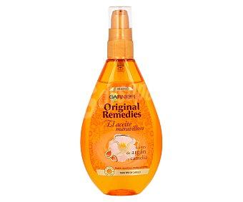 ORIGINAL REMEDIES Aceite maravilloso con aceites de argán y camelia para todo tipo de cabello bote 150 ml Bote 150 ml