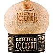 Agua de coco 100% orgánico Envase 400 cl Genuine coconut
