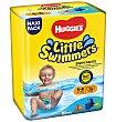 Pañal T.5-6 little swimmer 19 unidades Huggies