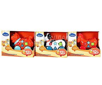 Baby Auchan Animalitos Musicales con Ruedas 1 Unidad
