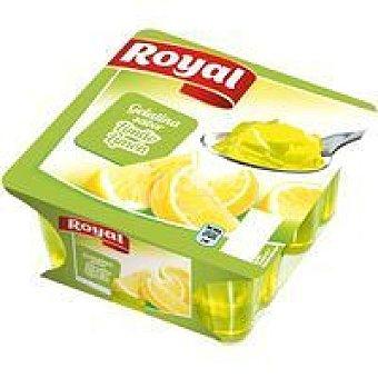 Royal Gelatina de limón Pack 4x100 g