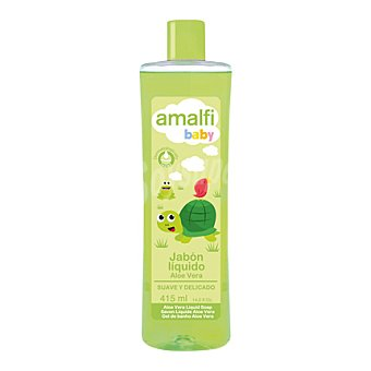 Amalfi Baby Jabón líquido con aloe vera 415 ml