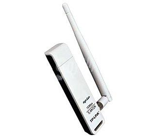 TP-LINK TL-WN722N Antena receptora señal wifi, Usb, con velocidad inalámbrica N (150 Megabytes por seg) para la reproducción de vídeo en streaming, juegos online y llamadas a través de Internet