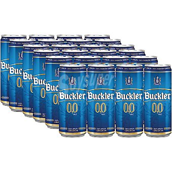 BUCKLER 0,0 Cerveza sin alcohol pack 24 lata 33 cl Pack 24 lata 33 cl