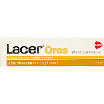 LACER Oros Pasta dentífrico Tubo 75 ml