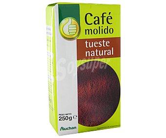 Productos Económicos Alcampo Café molido de tueste natural 250 gramos