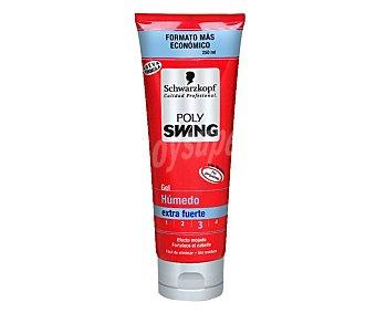 Polyswing Gel fijador efecto extra humedo Tubo 250 ml