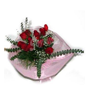 Bouquet de 6 rosas 6 uds