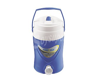 Pinnacle Bidón termo con grifo, color azul, de capacidad, pinnacle 4 litros