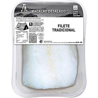 Royal Bacalao desalado tajada peso aproximado Bandeja 450 g