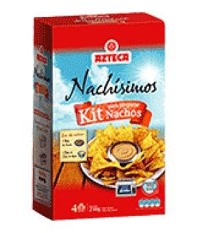 Azteca Foods Kit nachos con salsa queso 250 g